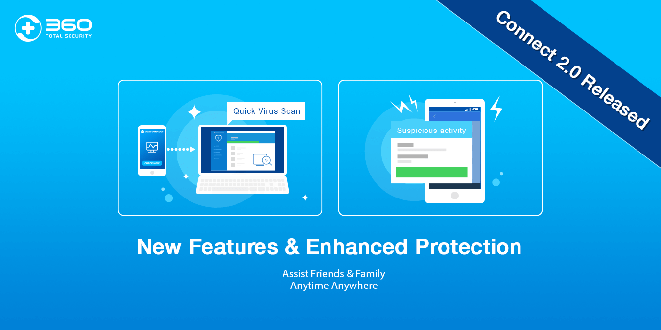 360 Connect 2.0 just released with new features to bring you enhanced protection!