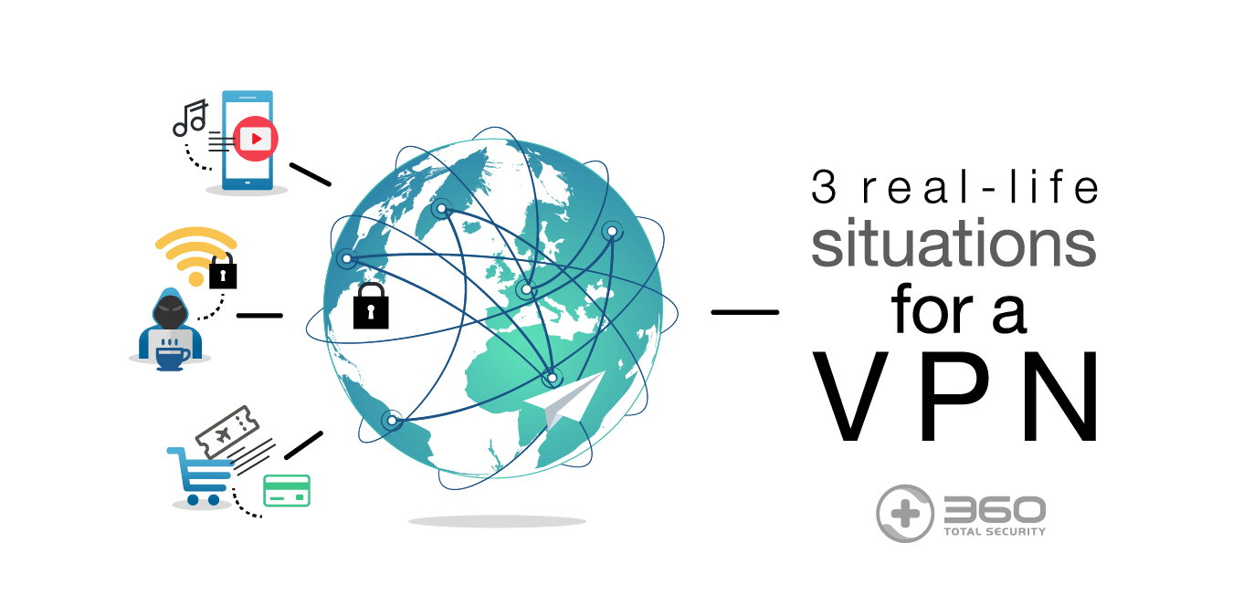 3 real-life situations where you will be thankful to have a VPN!