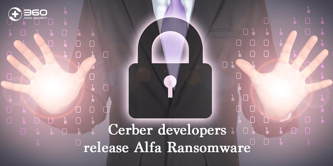Cerber developers release Alfa Ransomware