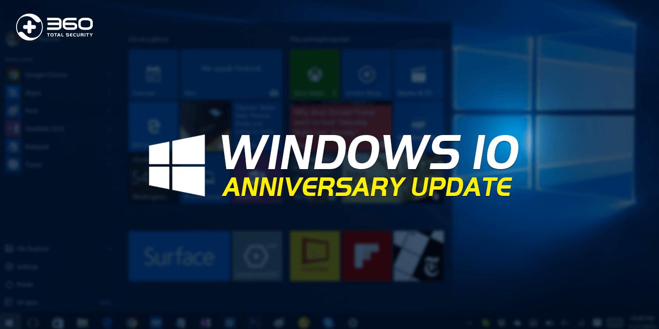 Windows 10 Anniversary Upgrade
