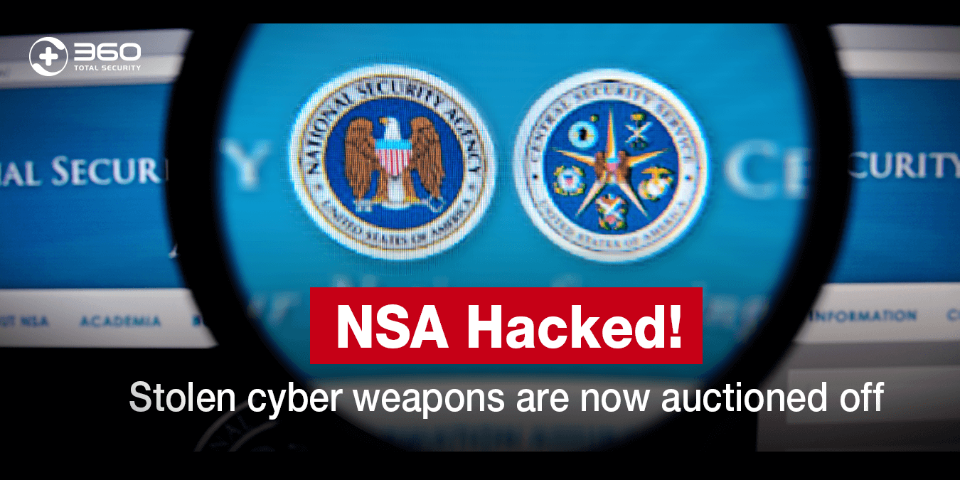 NSA Hacked! Stolen cyber weapons are now auctioned off