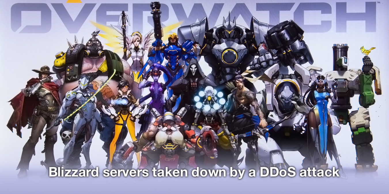 Blizzard servers have been taken down by a DDoS attack