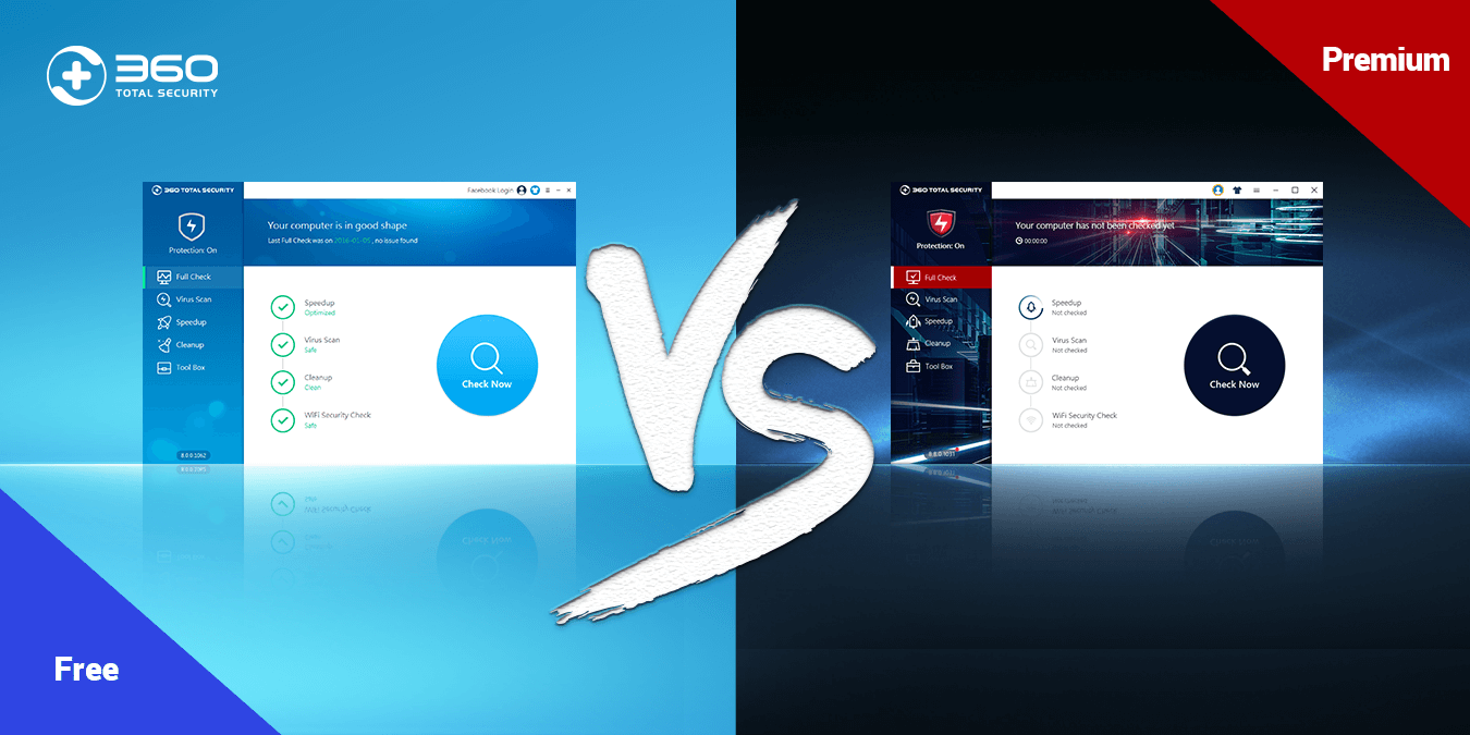 360 Total Security Premium vs. Free version: What is the difference?