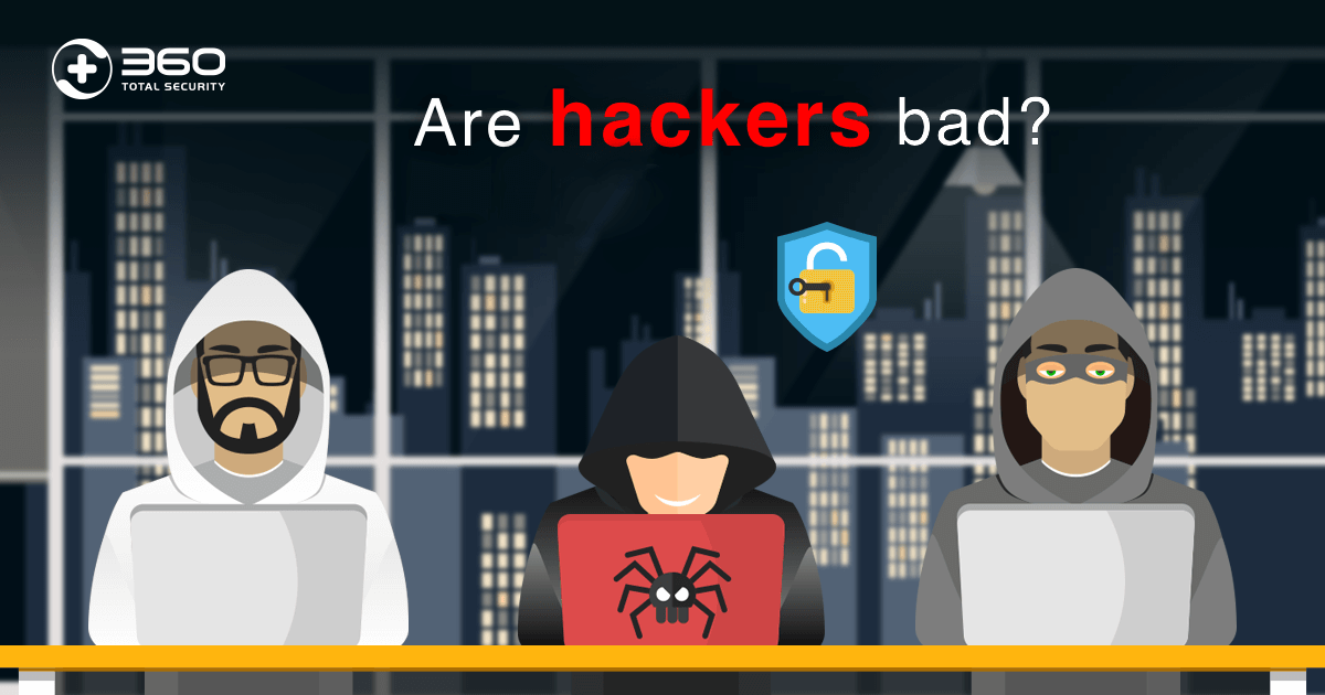 Are hackers bad?