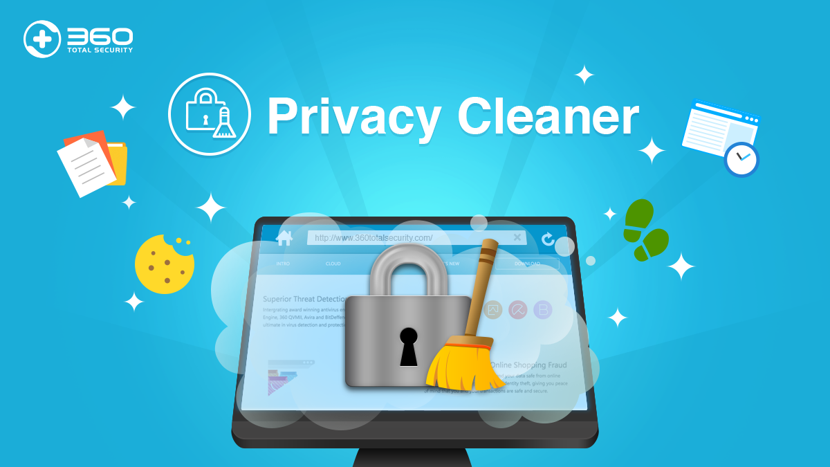 Privacy Cleaner keeps your computer activity private and secure!